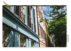 Carry-all Pouch featuring the photograph Rainbow Street by Karol Livote