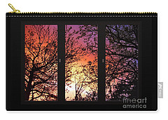 Rainbow Sunset Through Your Window Carry-all Pouch