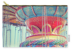 Carry-all Pouch featuring the photograph Rainbow Swings by Melanie Alexandra Price