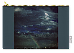 Rainbow Through The Storm  Carry-all Pouch by Frank J Casella