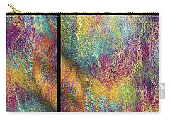 Rainbow Waterfall Diptych Carry-all Pouch