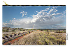 Rainbows Over Ghan Tracks Carry-all Pouch