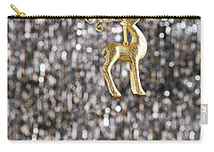 Carry-all Pouch featuring the photograph Raindeer by Ulrich Schade