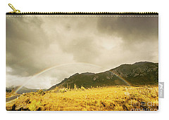 Raindrops In Rainbows Carry-all Pouch