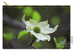 Raindrops Keep Falling Carry-all Pouch by Debby Pueschel