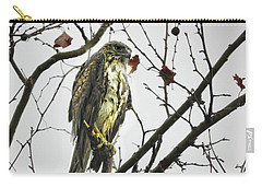Carry-all Pouch featuring the photograph Rained Out by Laura Ragland