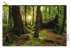 Rainforest Path Carry-all Pouch by Chad Dutson