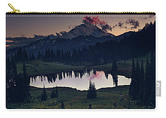 Carry-all Pouch featuring the photograph Rainier Color by Gene Garnace