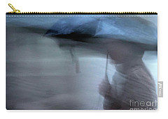 Raining In New Orleans Carry-all Pouch by Kathleen K Parker
