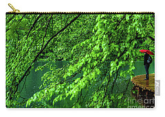 Raining Serenity - Plitvice Lakes National Park, Croatia Carry-all Pouch