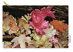 Rainy Day Leaves Carry-all Pouch