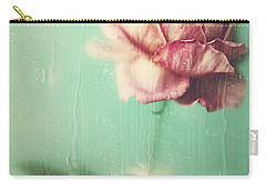 Carry-all Pouch featuring the photograph Rainy Day Romance by Amy Weiss