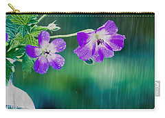 Carry-all Pouch featuring the photograph Rainy Days And Mondays by Jan Bickerton