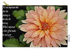 Rainy Days Carry-all Pouch by Deborah Klubertanz