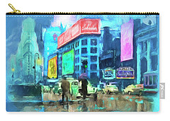 Rainy Night In New York Carry-all Pouch