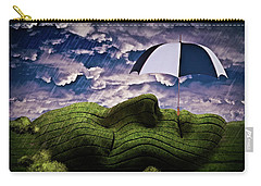 Rainy Summer Day Carry-all Pouch by Mihaela Pater