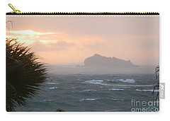 Rainy Xmas Sunrise Carry-all Pouch by Margaret Brooks