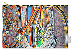 Carry-all Pouch featuring the painting Raleigh Gran Sport by Mark Howard Jones