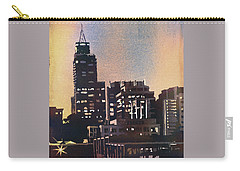 Raleigh Skyscrapers Carry-all Pouch by Ryan Fox