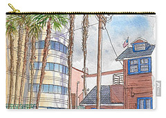 Raleigh Studios In Hollywood, California Carry-all Pouch