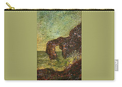 Carry-all Pouch featuring the painting Ralph Albert Blakelock  1847  1919  Marine, Seal Rock by Artistic Panda