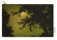 Carry-all Pouch featuring the painting Ralph Albert Blakelock  1847  1919  Stilly Night by Artistic Panda