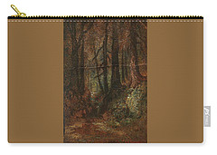 Carry-all Pouch featuring the painting Ralph Albert Blakelock  1847  1919  Woodland Stream by Artistic Panda