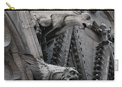 Ram And Eagle Griffon Notre Dame Carry-all Pouch by Christopher Kirby
