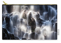 Ramona Falls With Rainbow Carry-all Pouch