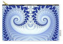 Ram's Horn Blue Carry-all Pouch