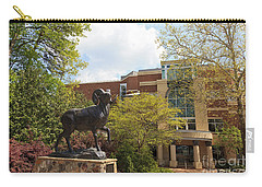 Ramses The Bighorn Ram Sculpture Carry-all Pouch
