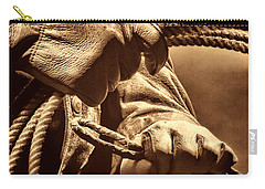 Ranch Hands Carry-all Pouch by American West Legend By Olivier Le Queinec