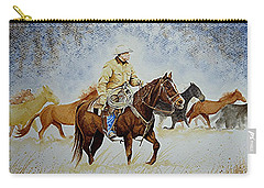 Ranch Rider Carry-all Pouch by Jimmy Smith
