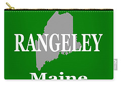 Carry-all Pouch featuring the photograph Rangeley Maine State City And Town Pride  by Keith Webber Jr
