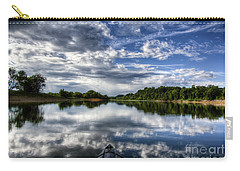 Carry-all Pouch featuring the photograph Rankin Bottoms Hdr by Douglas Stucky