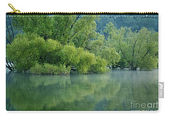Carry-all Pouch featuring the photograph Rankin Reflections 2 by Douglas Stucky
