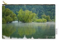 Carry-all Pouch featuring the photograph Rankin Reflections by Douglas Stucky