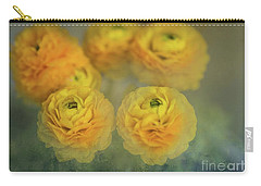 Ranunculus Carry-all Pouch by Eva Lechner