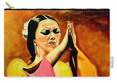 Raquel Heredia - Flamenco Dancer Sold Carry-all Pouch