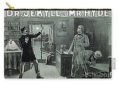 Rare Dr. Jekyll And Mr. Hyde Transformation Poster Carry-all Pouch