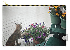 Swat The Petunias Carry-all Pouch