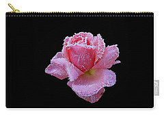 Rare Winter Rose Carry-all Pouch