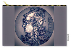 Rasberry Goddess Of Gaul Carry-all Pouch by Fred Larucci