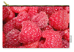 Carry-all Pouch featuring the photograph Raspberries by Cristina Stefan