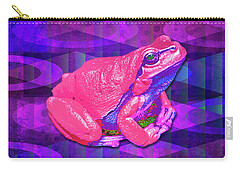 Raspberry Frog Carry-all Pouch