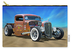 Carry-all Pouch featuring the photograph Rat Truck On The Beach by Mike McGlothlen