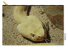 Rattlesnake Closeup Carry-all Pouch