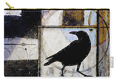 Raven Ahead Of Time Carry-all Pouch