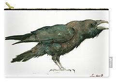 Raven Bird Carry-all Pouch