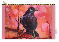 Raven Bright Carry-all Pouch